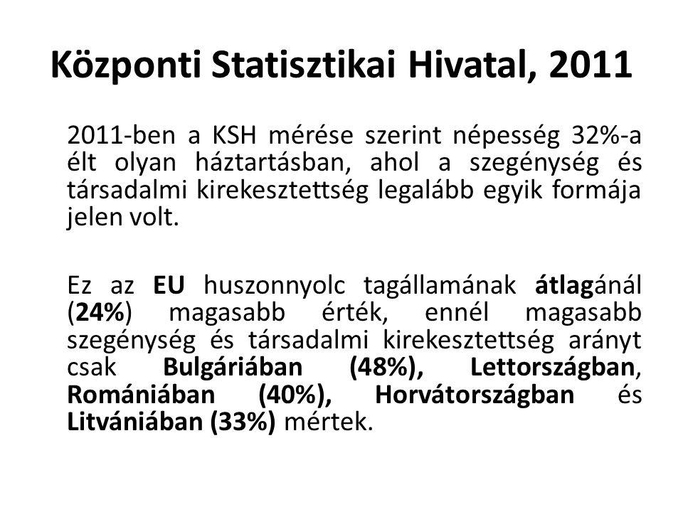 Központi Statisztikai Hivatal, 2011