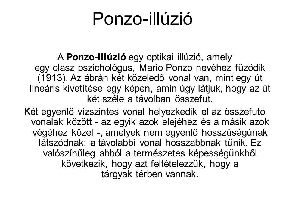 Ponzo-illúzió