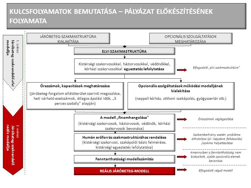 KULCSFOLYAMATOK BEMUTATÁSA – PÁLYÁZAT ELŐKÉSZÍTÉSÉNEK FOLYAMATA