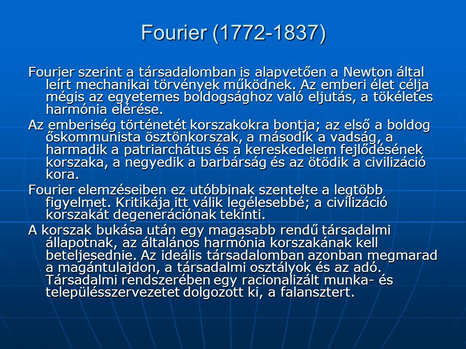 Fourier (1772-1837)