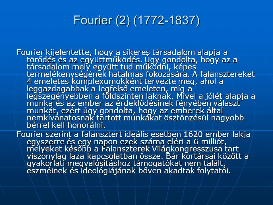 Fourier (2) (1772-1837)