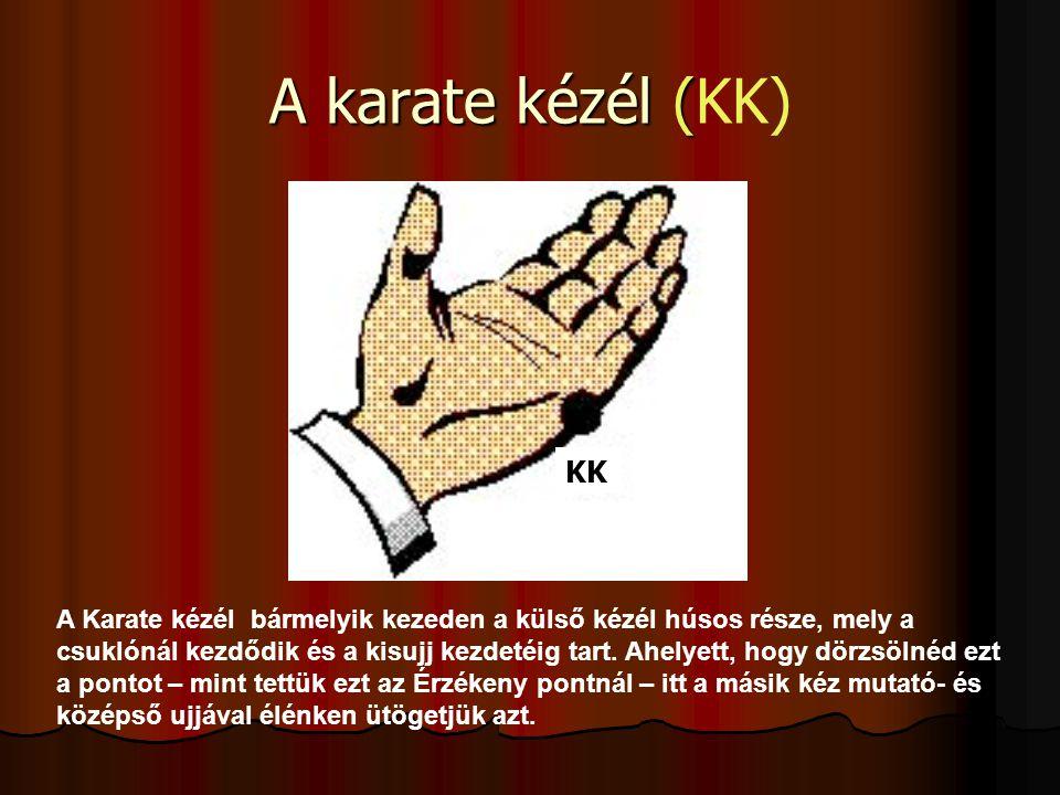 A karate kézél (KK) KK.