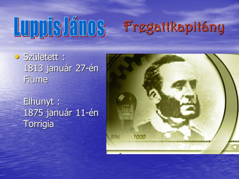 Fregattkapitány Luppis János