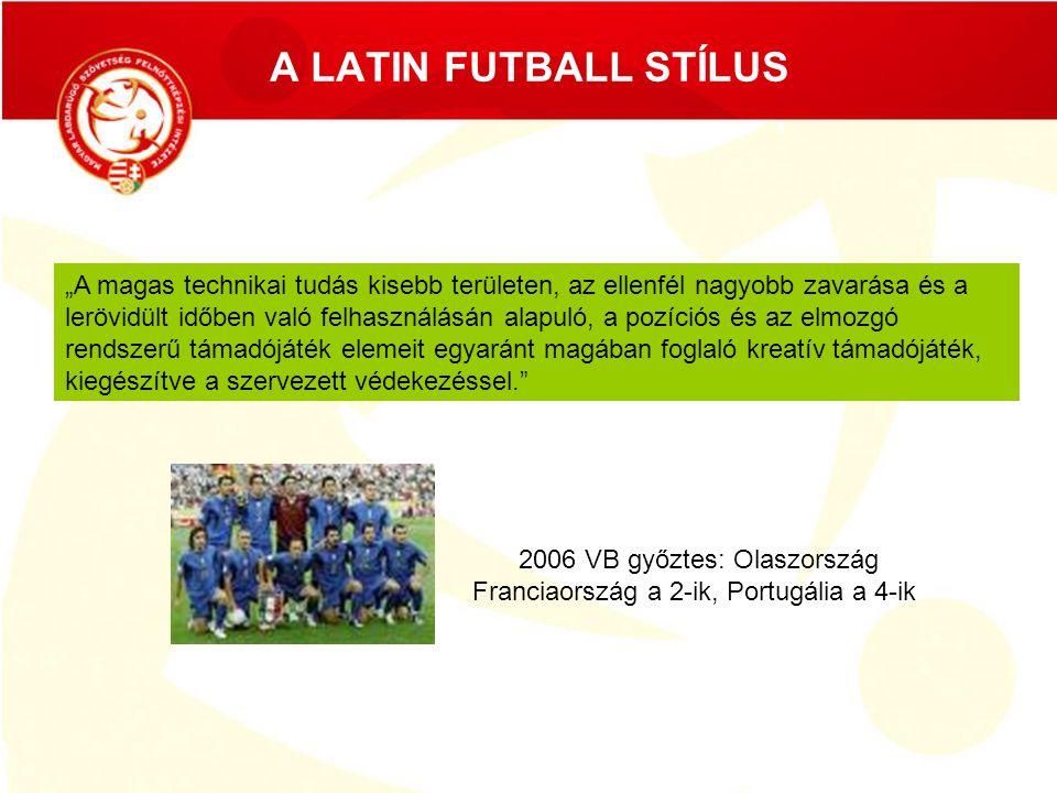 A LATIN FUTBALL STÍLUS