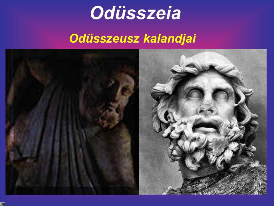Odüsszeia Odüsszeusz kalandjai
