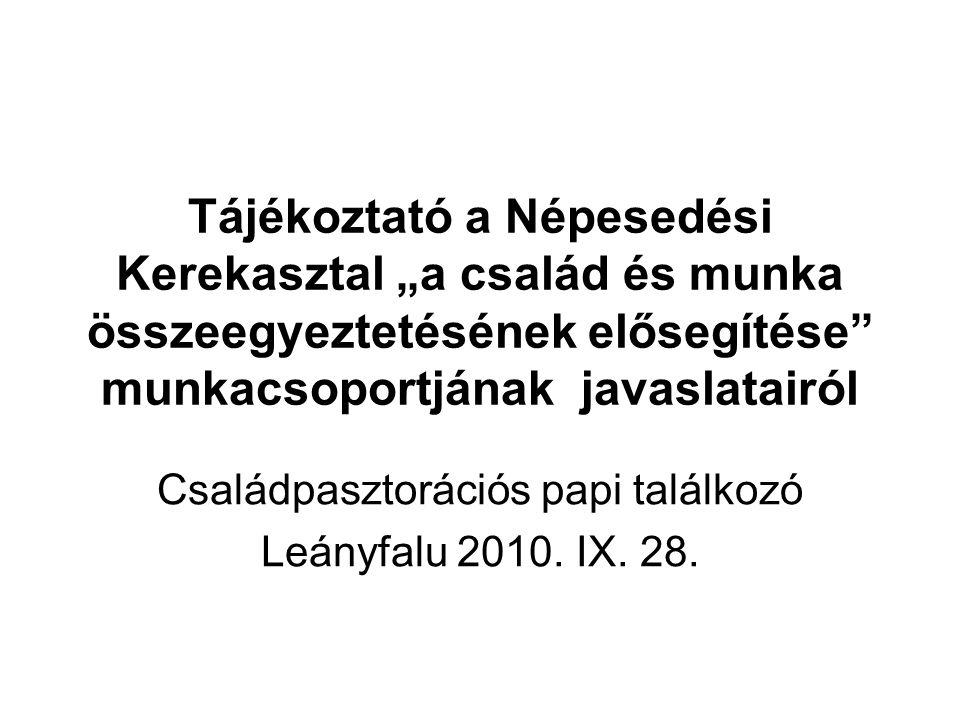 Családpasztorációs papi találkozó Leányfalu 2010. IX. 28.