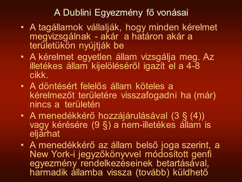 A Dublini Egyezmény fő vonásai