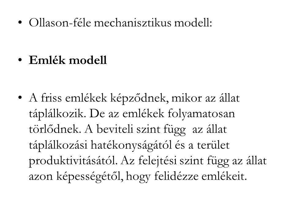 Ollason-féle mechanisztikus modell: