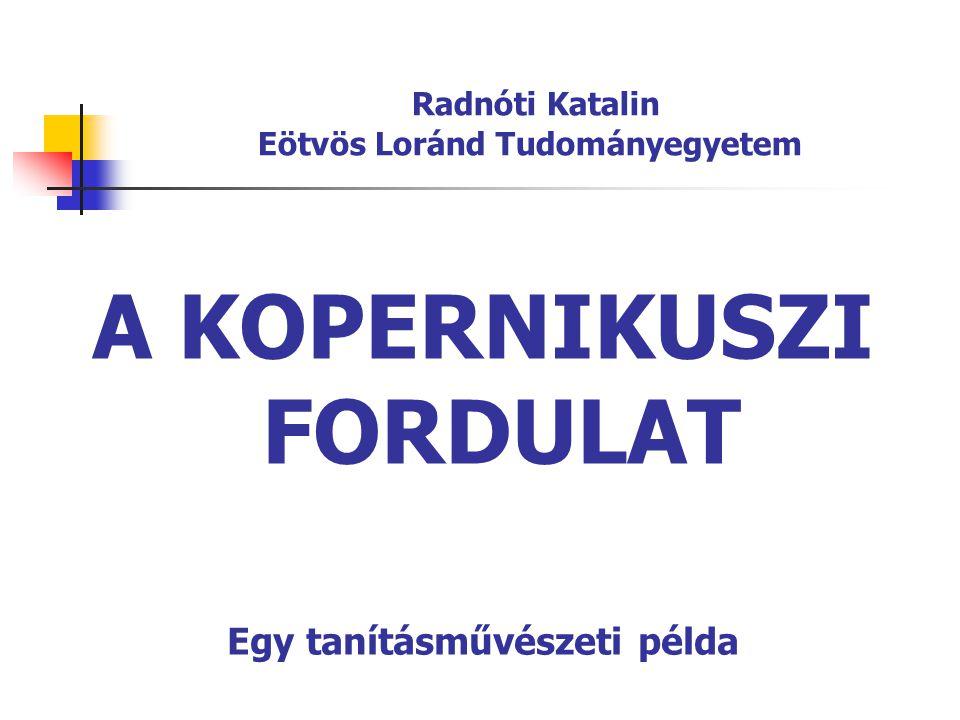 Radnóti Katalin Eötvös Loránd Tudományegyetem