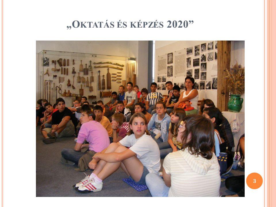 """""""Oktatás és képzés 2020"""