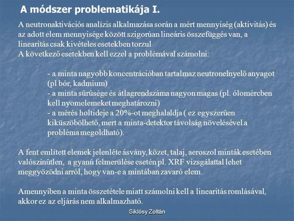 A módszer problematikája I.
