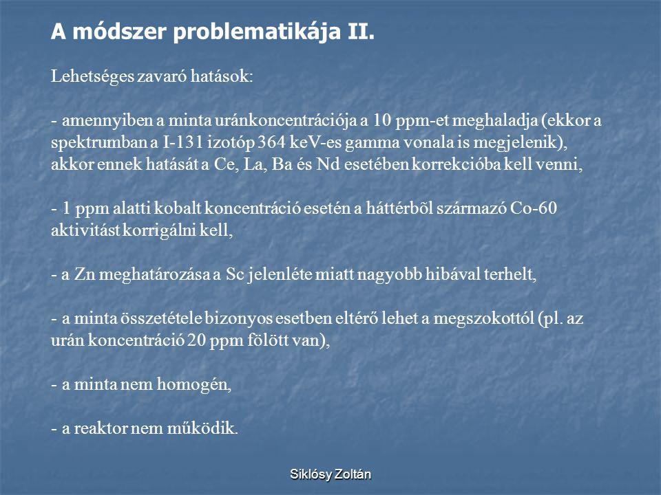 A módszer problematikája II.
