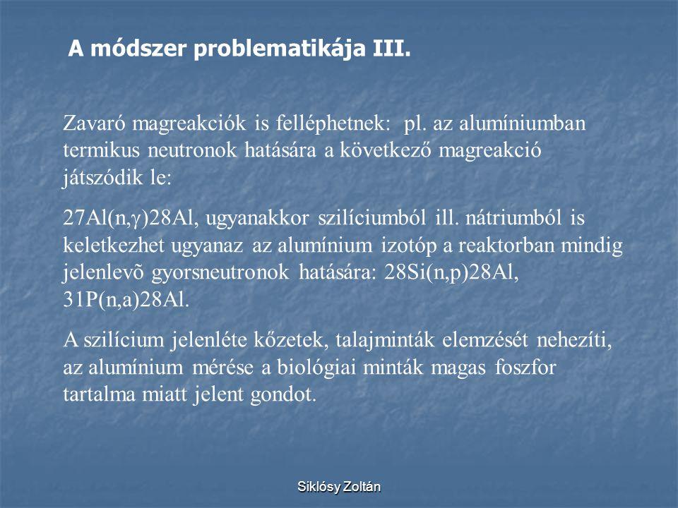 A módszer problematikája III.