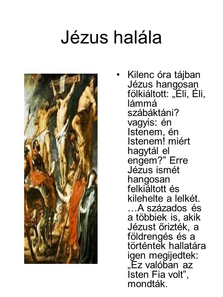 Jézus halála