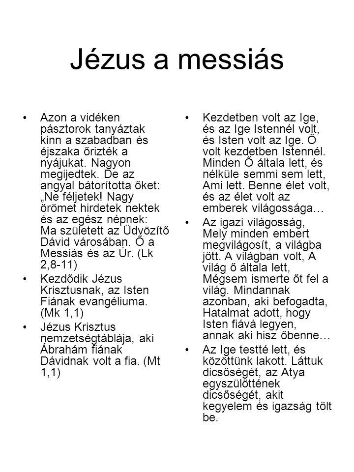 Jézus a messiás