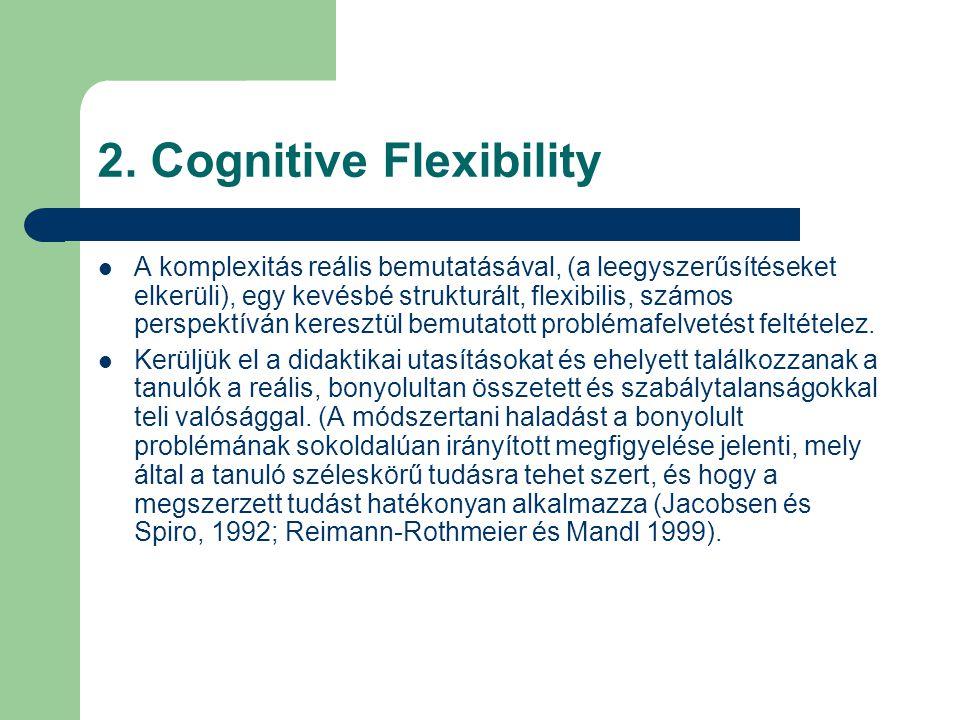 2. Cognitive Flexibility