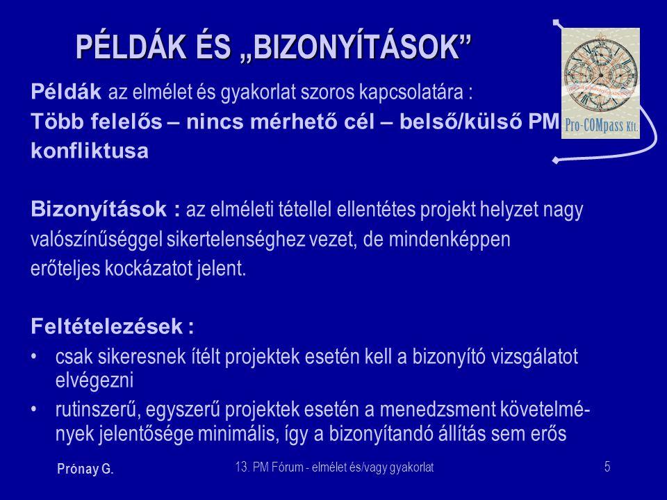 """PÉLDÁK ÉS """"BIZONYÍTÁSOK"""