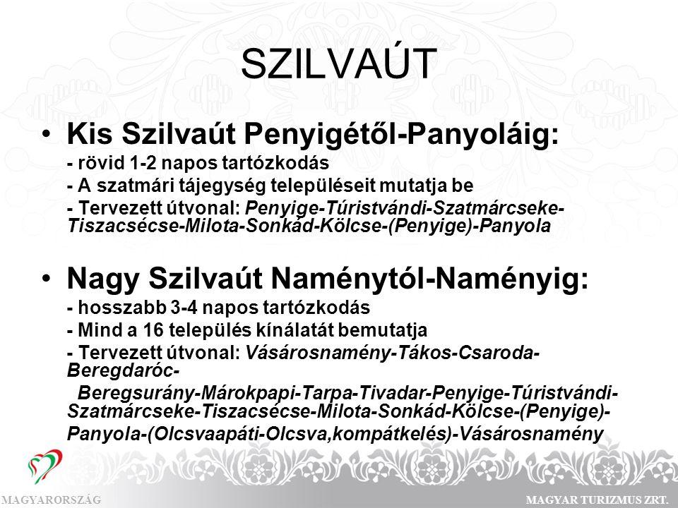 SZILVAÚT Kis Szilvaút Penyigétől-Panyoláig: