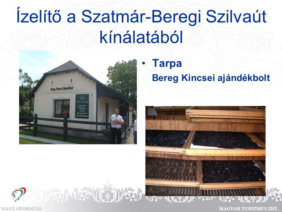 Ízelítő a Szatmár-Beregi Szilvaút kínálatából