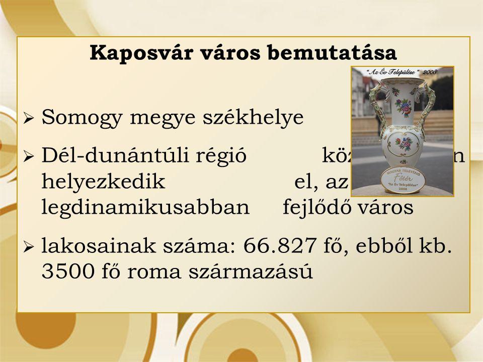 Kaposvár város bemutatása