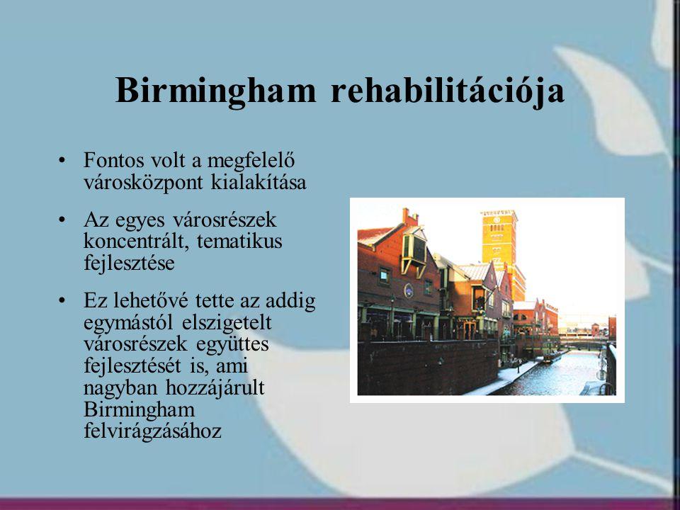 Birmingham rehabilitációja