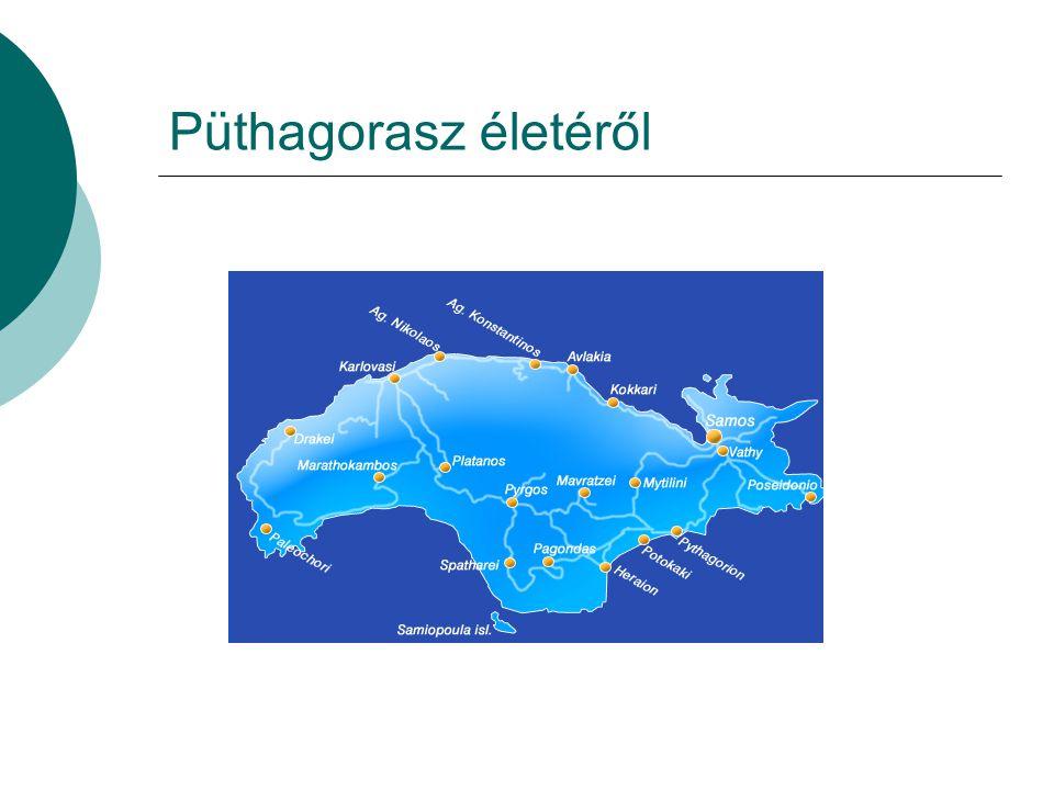 Püthagorasz életéről