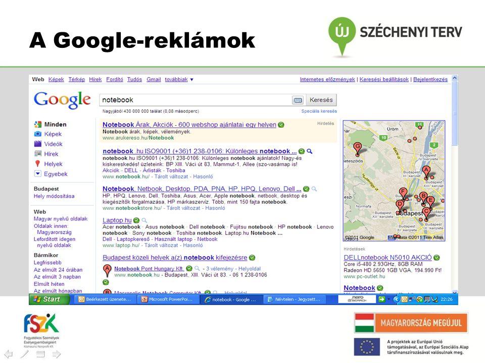 A Google-reklámok