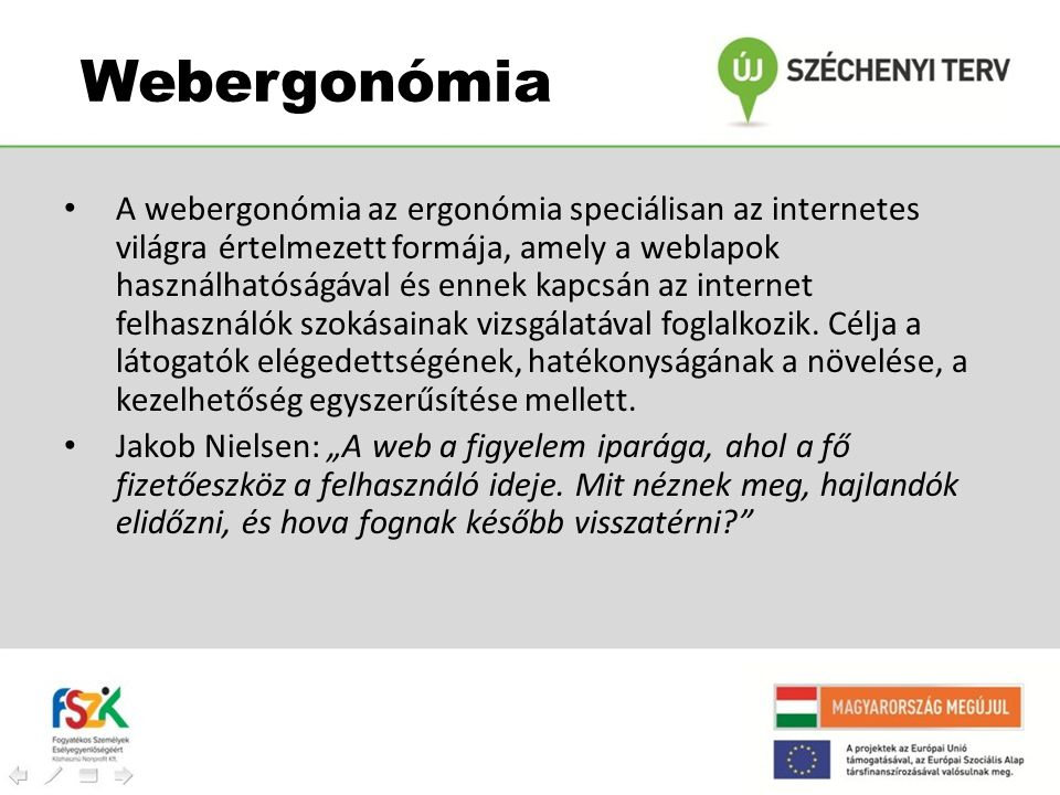 Webergonómia