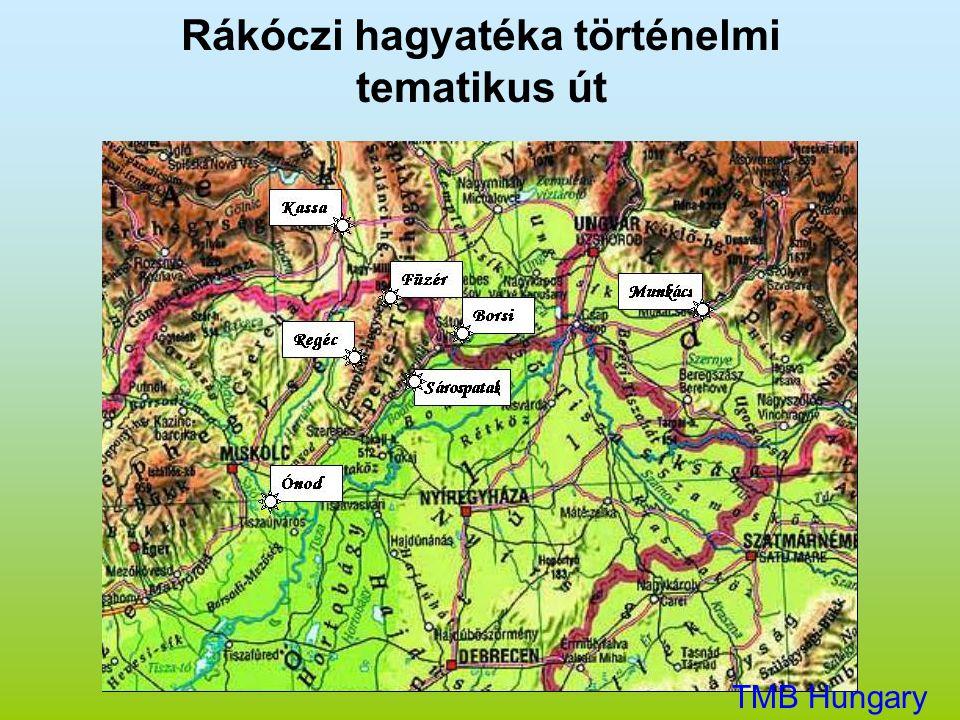Rákóczi hagyatéka történelmi tematikus út