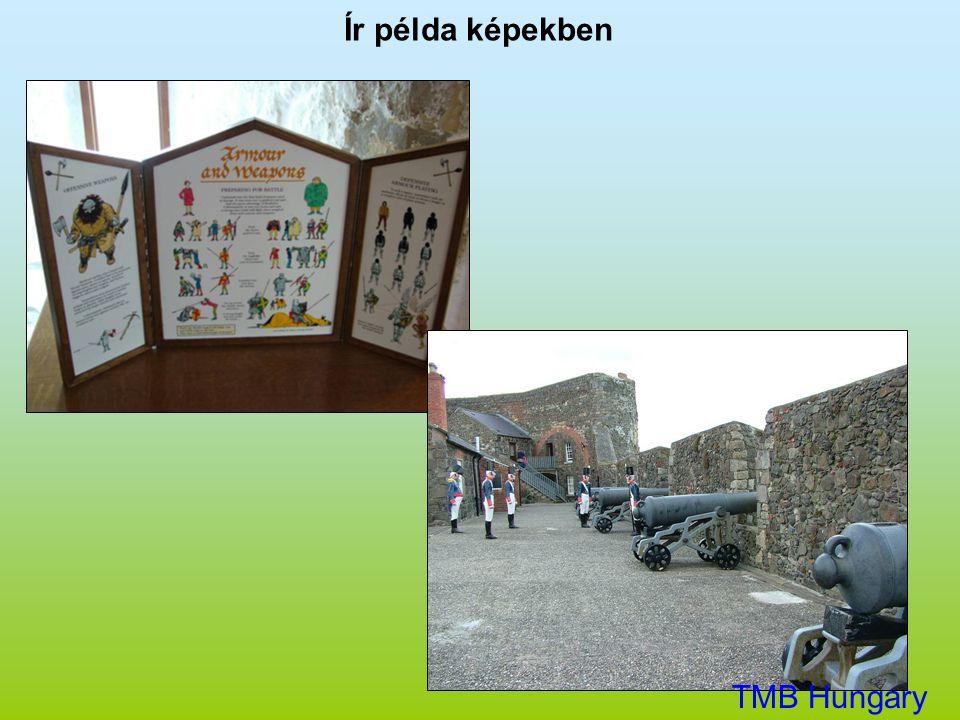 Ír példa képekben TMB Hungary Kft.