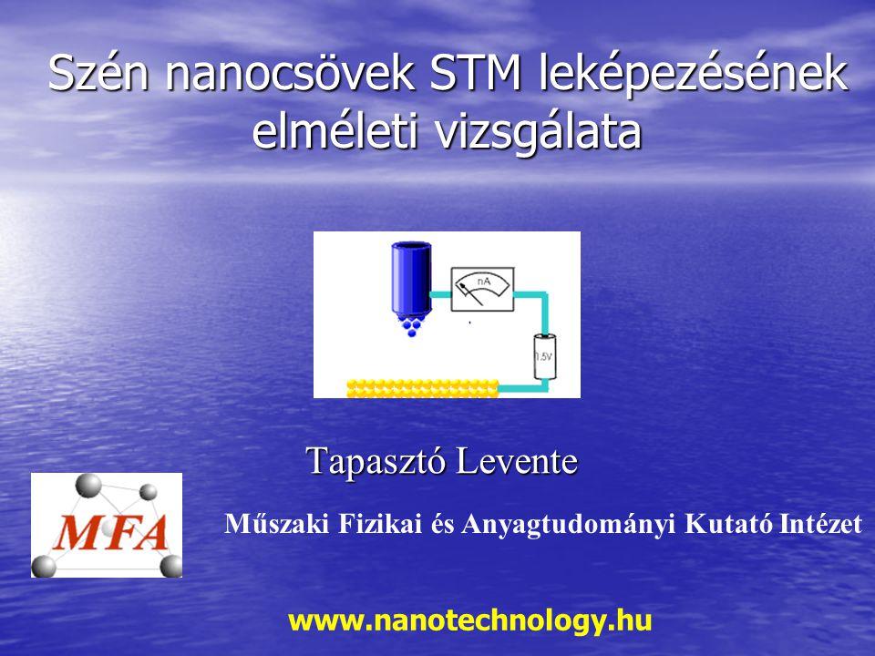 Szén nanocsövek STM leképezésének elméleti vizsgálata