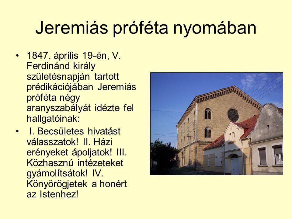 Jeremiás próféta nyomában