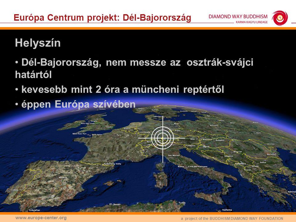 Európa Centrum projekt: Dél-Bajorország