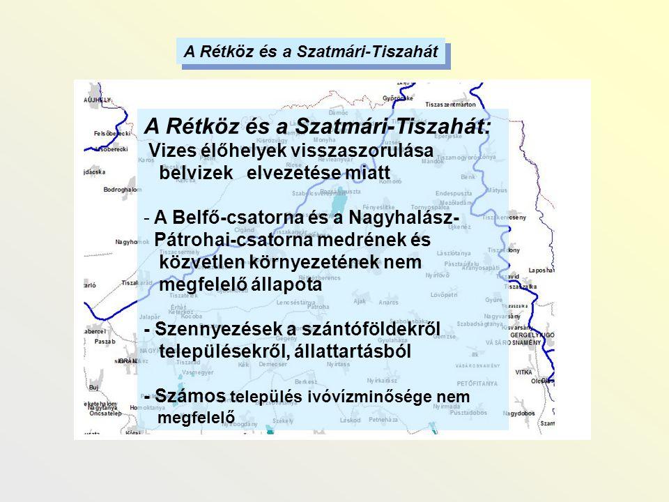 A Rétköz és a Szatmári-Tiszahát: