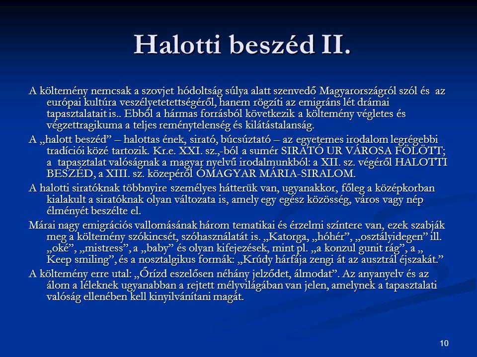 Halotti beszéd II.