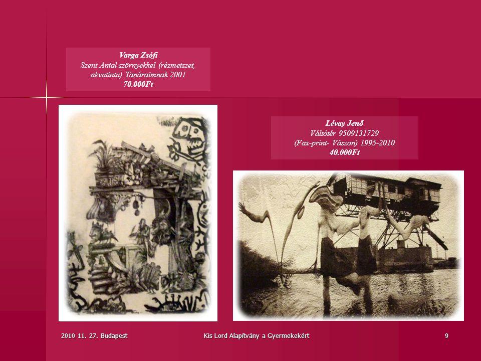 Lévay Jenő Váltótér 9509131729 (Fax-print- Vászon) 1995-2010 40.000Ft