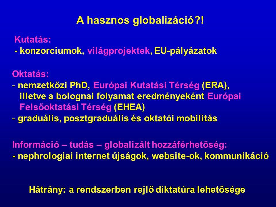 A hasznos globalizáció !