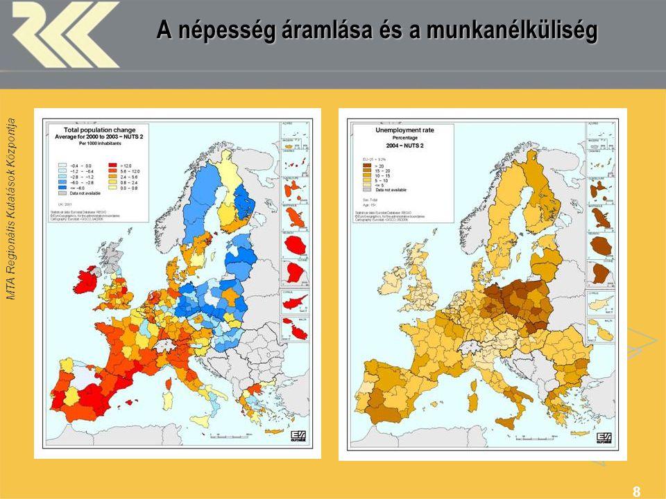 A népesség áramlása és a munkanélküliség