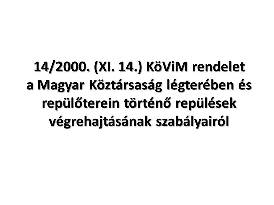 14/2000. (XI.