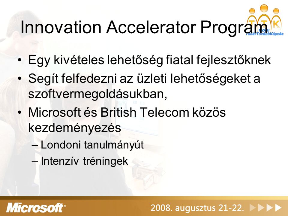 Innovation Accelerator Program
