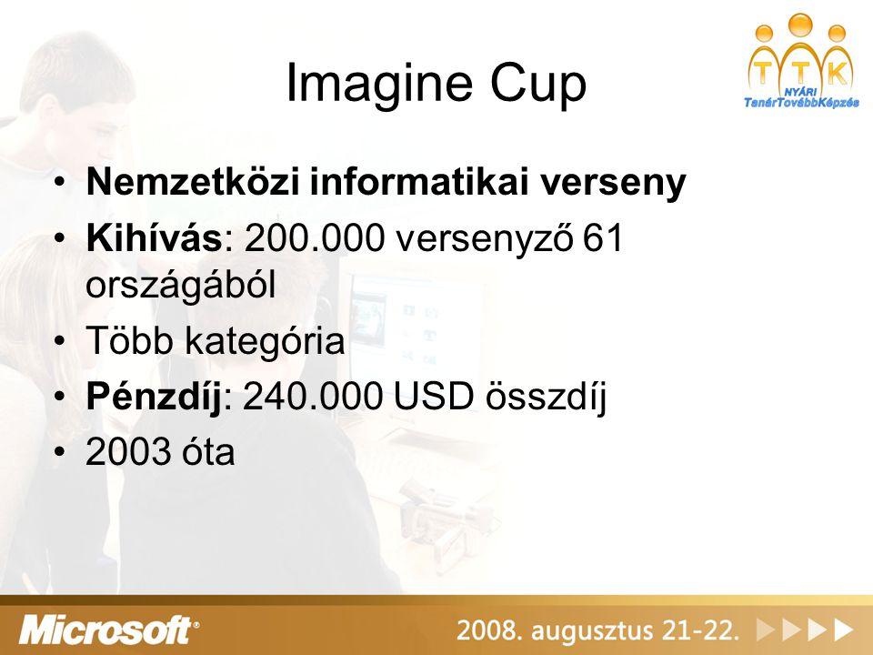 Imagine Cup Nemzetközi informatikai verseny