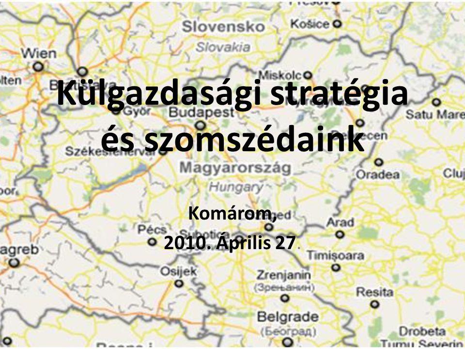 Külgazdasági stratégia és szomszédaink