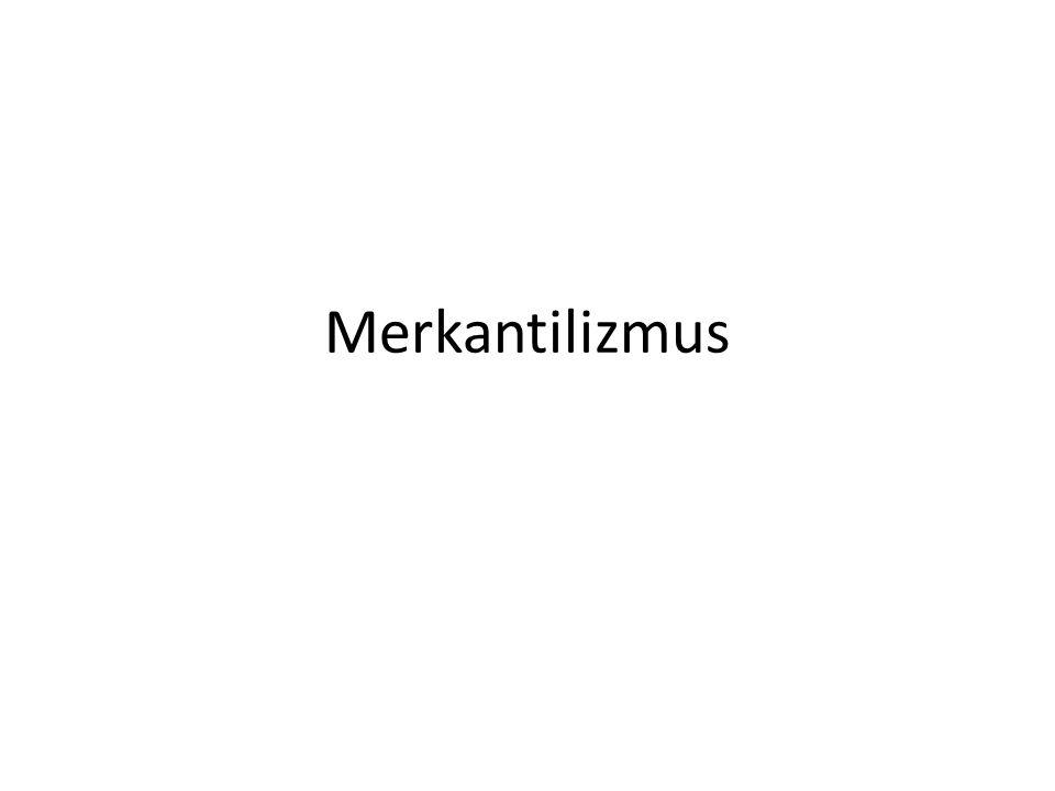 Merkantilizmus