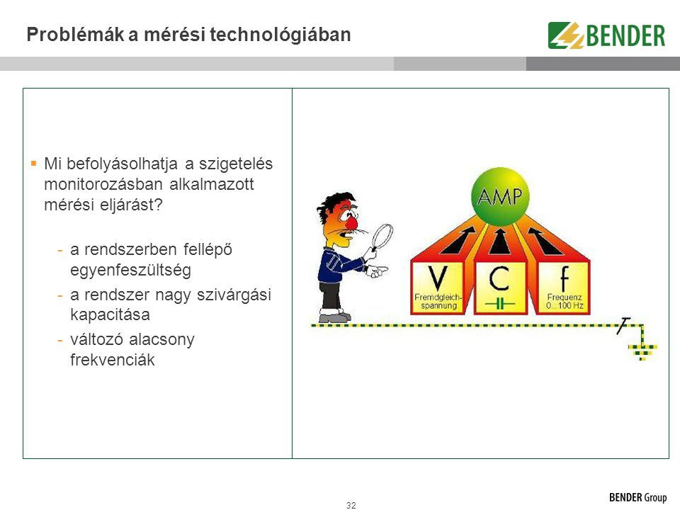 Problémák a mérési technológiában