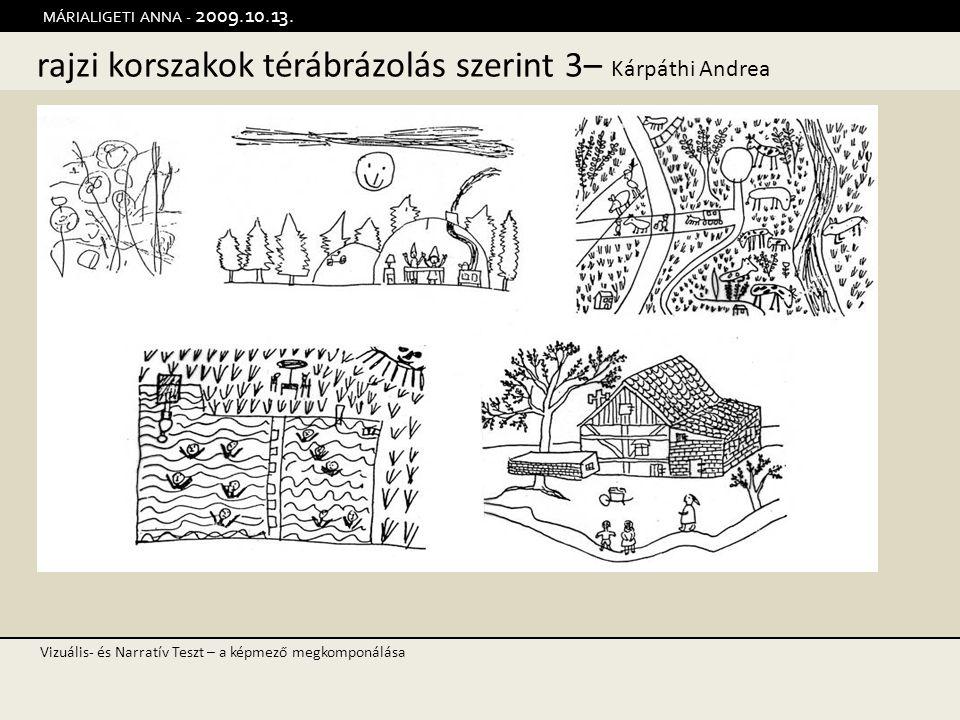 rajzi korszakok térábrázolás szerint 3– Kárpáthi Andrea