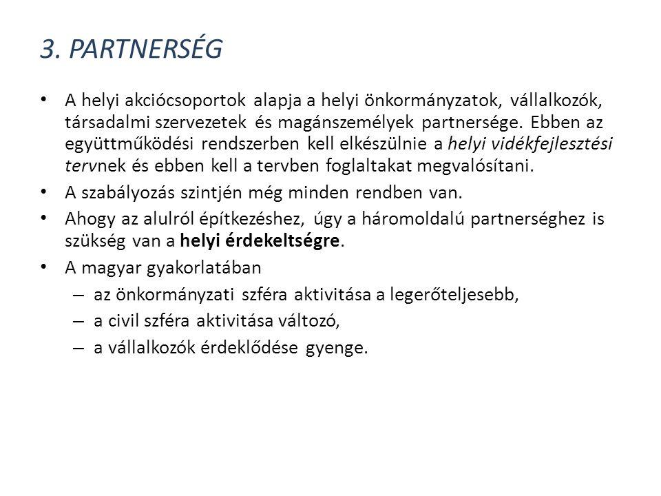 3. Partnerség