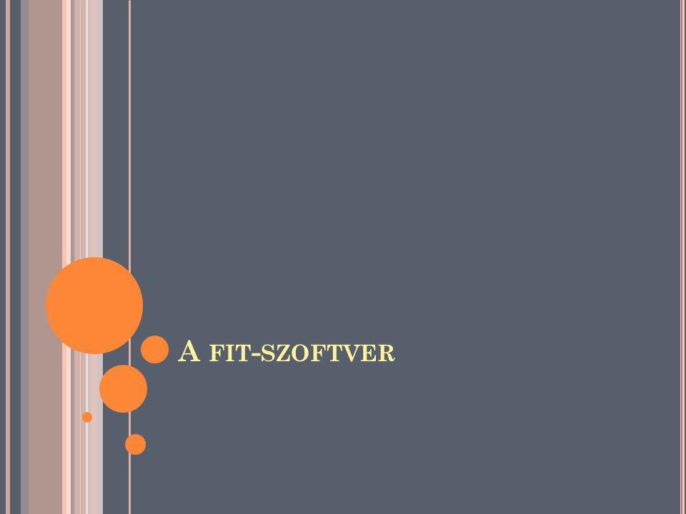 A fit-szoftver