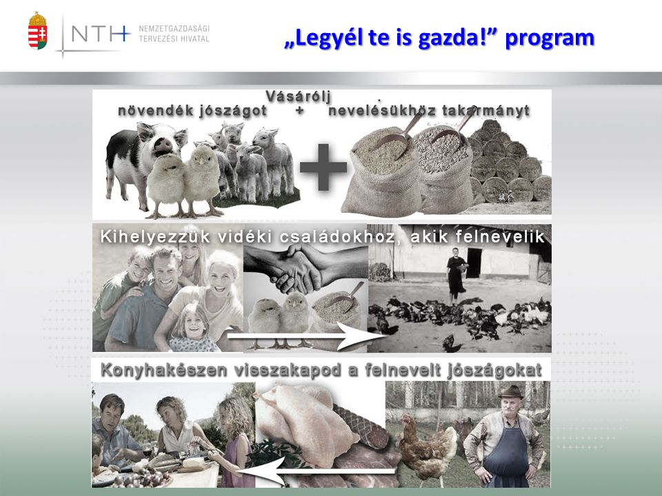 """Legyél te is gazda! program"