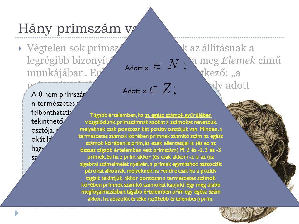 Hány prímszám van