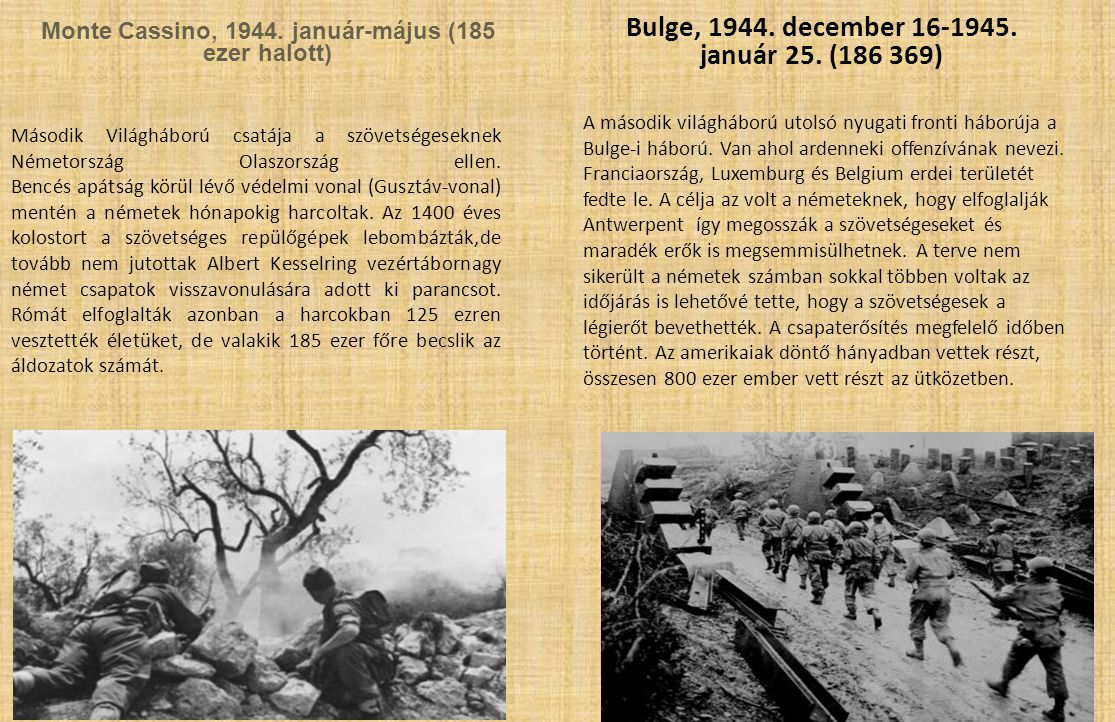 Bulge, 1944. december 16-1945. január 25. (186 369)